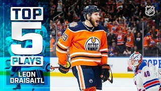 Top 5 Leon Draisaitl plays from 2018-19