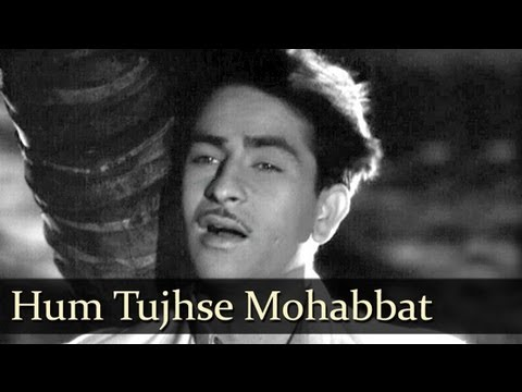 Hum Tujhse Mohabbat Kar- Raj Kapoor - Awaara - Mukesh - Shankar...
