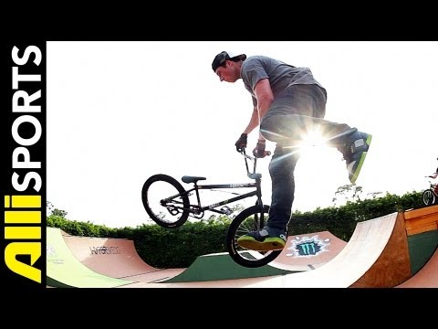 How To Tailwhip, Mike Spinner, Alli Sports BMX Step By Step Trick Tips