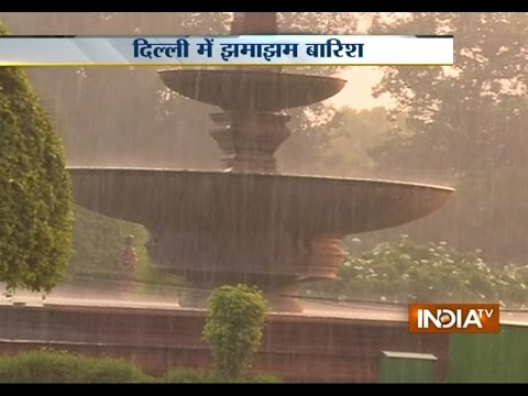 Pre-monsoon rain in parts of Delhi brings relief from hot and humid weather | India Tv
