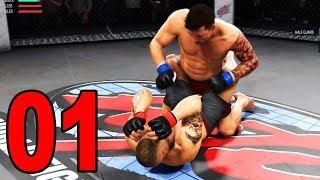 UFC 3 Career Mode - Part 1 - The Beginning (UFC 2018 Gameplay)