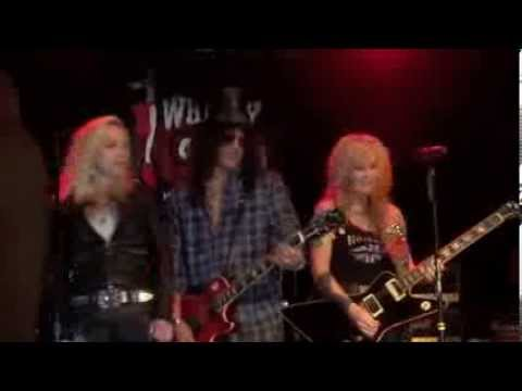 Lita Ford, Cherie Currie, Slash - Cherry Bomb (the Runaways), Whisky In Los Angeles 01-09-2013 video