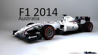 F1 2014 MOD Williams Martini Australia Hotlap