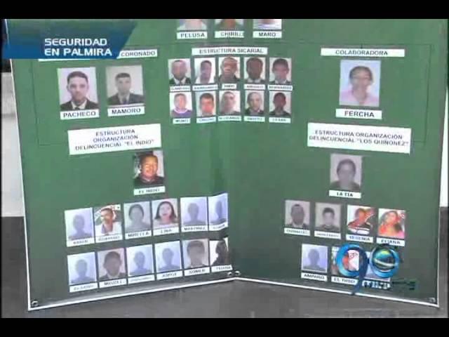 Mayo 23 de 2012. Policía da duros golpes contra bandas delincuenciales en el Valle