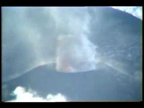 Alaska Mount Veniaminof Volcano 1983 Video
