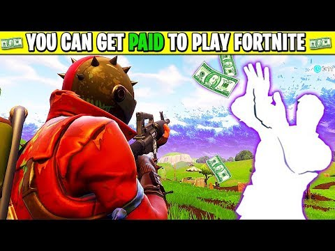 How to get PAID MONEY playing FORTNITE! (NOT CLICKBAIT)