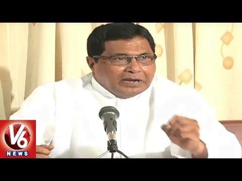 CLP Leader Jana Reddy Criticizes TRS Government   Hyderabad   V6 News
