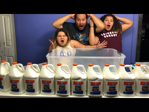 100+ POUNDS OF FLUFFY BUTTER SLIME thumbnail