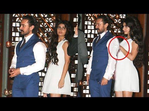Aamir Khan CAUGHT With Fatima Sana Shaikh In Public At Ambani's Party thumbnail