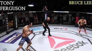 UFC3 토니 퍼거슨 vs 이소룡 Tony Ferguson vs Bruce Lee