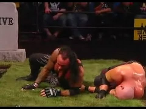 WWE Bragging Rights 2010 Kane Vs The Undertaker Buried Alive...