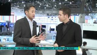CES 2012 Kaz Hirai Interview