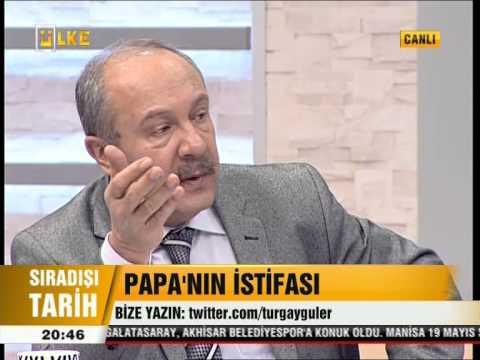PAPA'NIN iSTiFASI  - SIRADIŞI TARiH (16.02.2013)
