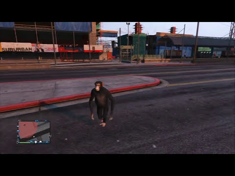 GTA V Online - Hack - Conduciendo NAVE ESPACIAL!!! - transformarse en todo!
