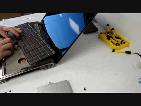 How to replace a keyboard on a HP Pavilion DV7