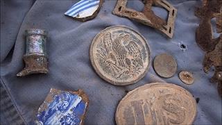 Groundhog Burrow Metal Detecting