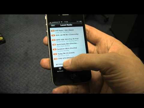 Oxegen Radio on your phone