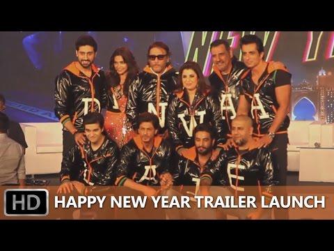 Happy New Year Trailer Launch Event - Uncut   Shah Rukh Khan, Deepika Padukone