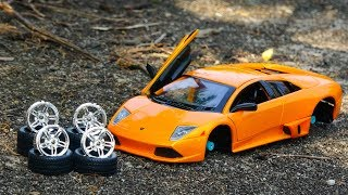 Build Race Car for Children - Play with Construction Vehicles Toys - G145C