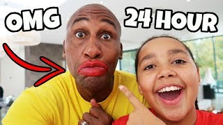 MY DAD SAID YES TO EVERYTHING FOR 24 HOURS!!