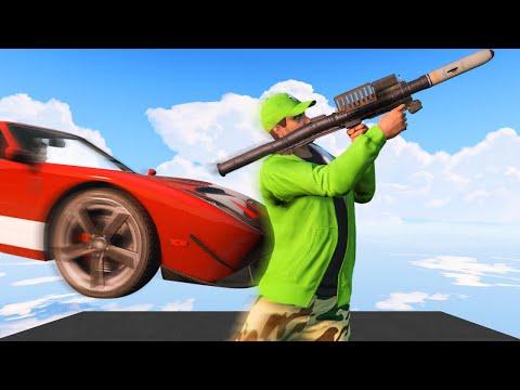 RPG's vs. 300MPH FLYING CARS! (GTA 5 Funny Moments)