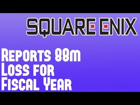 Square Enix News - Company Posts £88m Loss Thanks to Poor Console Title Sales Including Tomb Raider