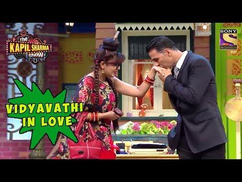 Vidyavathi Head Over Heels For Akshay - The Kapil Sharma Show thumbnail