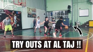 Try Outs At Al Taj!! || Vlog #1