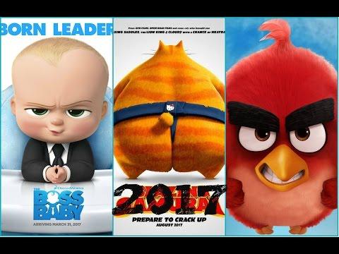 Películas animadas mas esperadas para el 2017