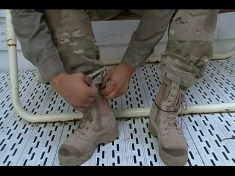 Why Does The Military Blouse Their Boots 2