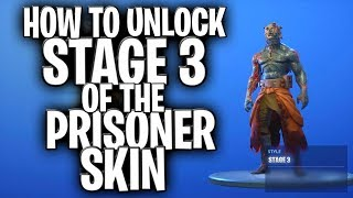 How To Unlock Stage 3 Of The Prisoner Snowfall Skin! (Prisoner Skin Foraged Campfire Location!)