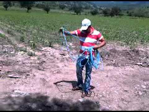 Chichihualco - Ramiro todo un experto con la riata