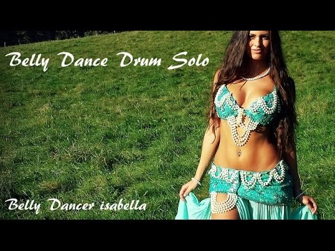 *Isabella Belly Dance Drum Solo By Sadie And Kaya* 2014 HD