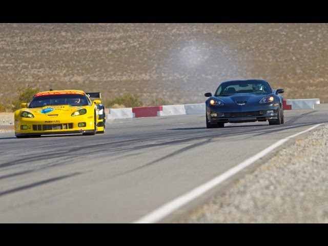 Corvette Drag Race | Road and Track - YouTube