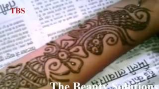 How To Make Henna Arabic Mehendi Designs |  Pakistani Mehndi Designs For Front Hand 2015 #17 TBS