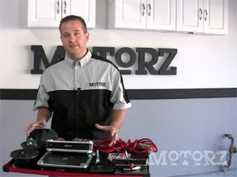 How to Install Alpine Amps Subwoofer Ford F-150 Motorz #12