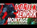 YORICK REWORK MONTAGE - BEST YORICK PLAYS | @LeagueOfLegends