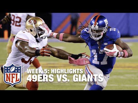 49ers Vs Giants Week 5 Highlights Nfl