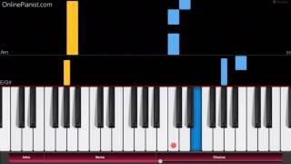 Re:Zero OP 2 - Paradisus Paradoxum - EASY Piano Tutorial - How to play Paradisus Paradoxum on piano