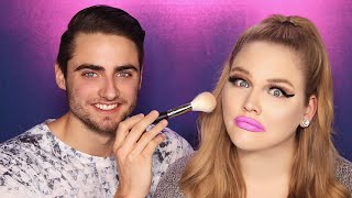 Download Lagu BOYFRIEND DOES MY MAKEUP | NikkieTutorials Gratis STAFABAND