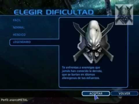 [p,1] Halo Combat Evolved CAMBIO DE CUERPO mision [5]como un elite.wmv