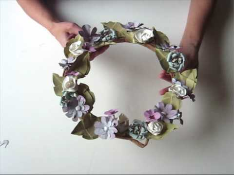 TUTORIAL - Guirlanda de papel