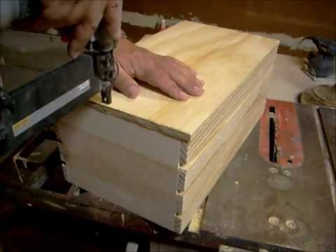 How to build a small wood crate