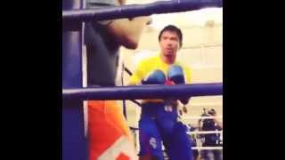 Manny Pacquiao full beast mode!