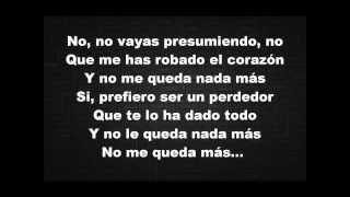 Marco Antonio Solis Video - Enrique Iglesias - El Perdedor (Pop Version) ft. Marco Antonio Solís [Lyrics Video]