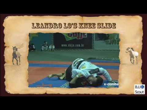 BJJ Scout: Leandro Lo Knee Slide Study Part 1 - Active Posting