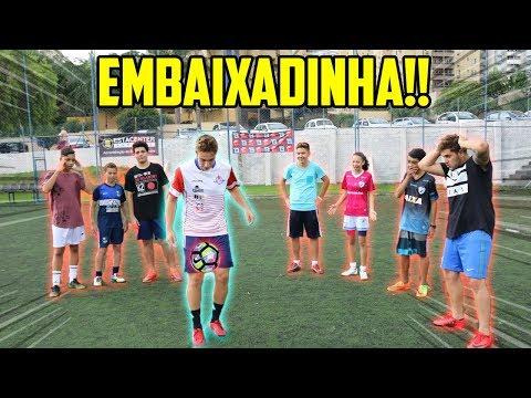 CAMPEONATO DE EMBAIXADINHA!! ( você ganharia?? ) thumbnail