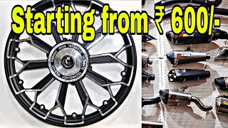 Big Offer For Bike Modification | Bullet Accessories and Modifications