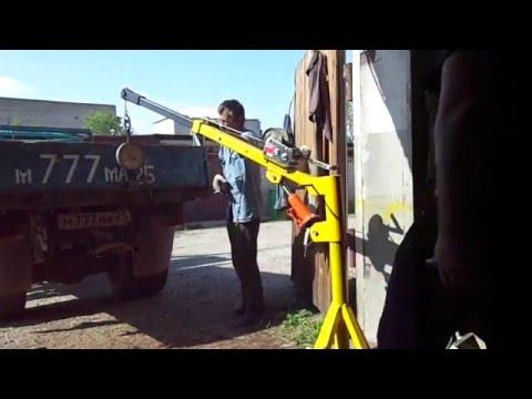 Самодельные гаражные краны