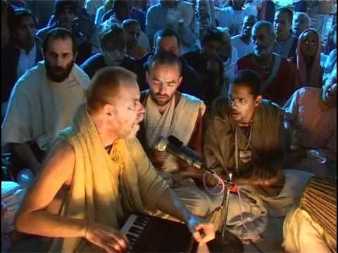 Hare Krsna Kirtan At Sri Vrindavan Dham W  Aindra Prabhu Ep1 video